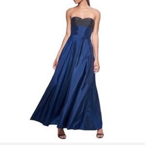 Fame & Partners color block gown NWT